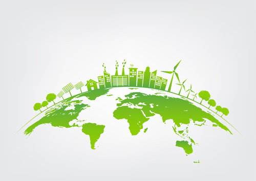 Green city on earth, World environment and sustainable developme