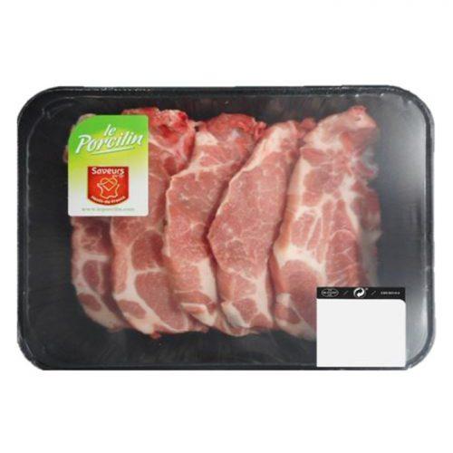 Côte de porc échine - Le Porcilin