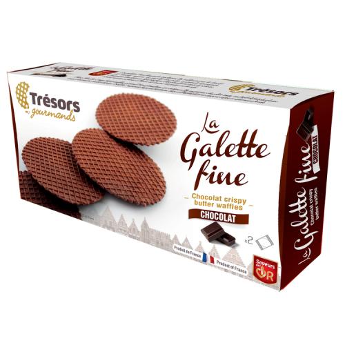 galette fine chocolat