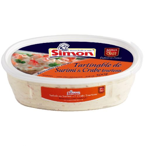 Tartinable de surimi & crabe